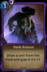 Dark Return - Alpha