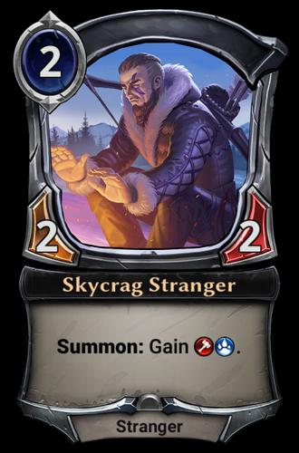 Skycrag Stranger card