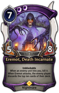 Eremot, Death Incarnate