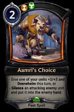 Aamri's Choice