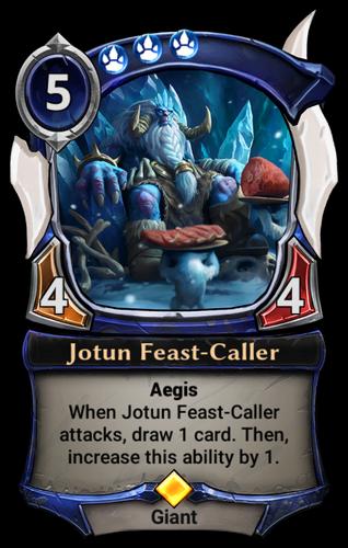 Jotun Feast-Caller card