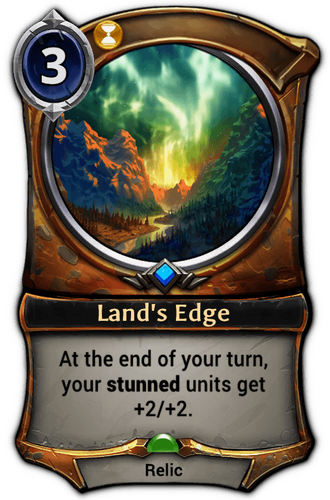 Land's Edge card