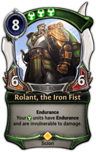 Rolant, the Iron Fist