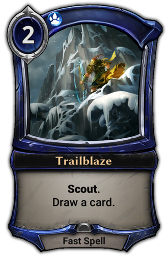 Trailblaze card