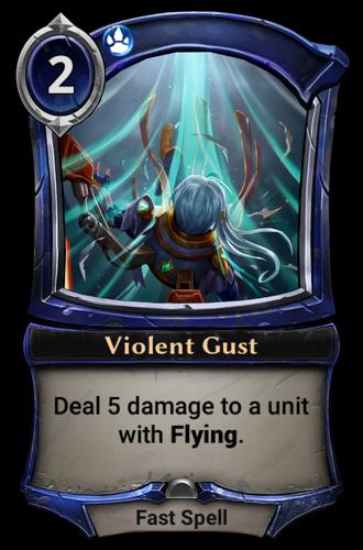 Violent Gust card