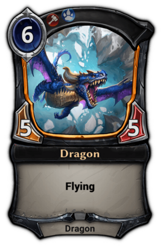 Dragon card