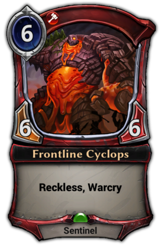 Frontline Cyclops card