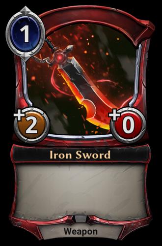Iron Sword card