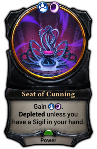 Seat of Cunning card