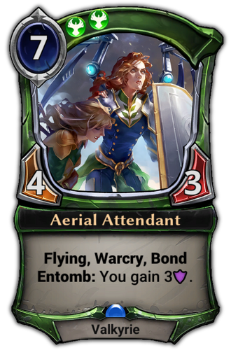Aerial Attendant card