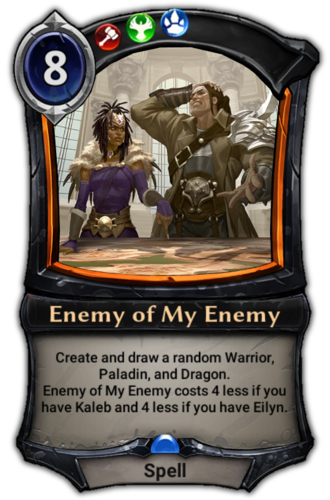 Enemy of My Enemy card