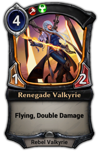 Renegade Valkyrie card
