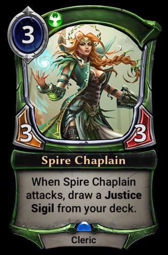 Spire Chaplain card