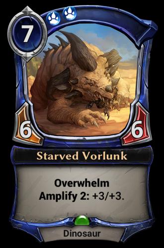 Starved Vorlunk card