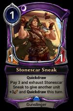 Stonescar Sneak