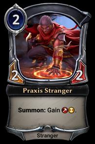 Praxis Stranger