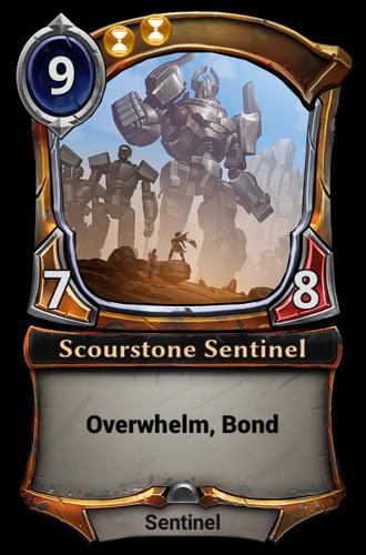 Scourstone Sentinel card