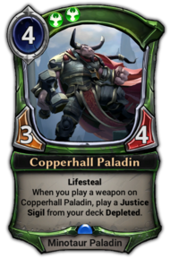Copperhall Paladin