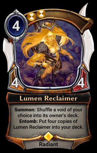 Lumen Reclaimer card