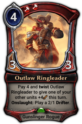 Outlaw Ringleader card