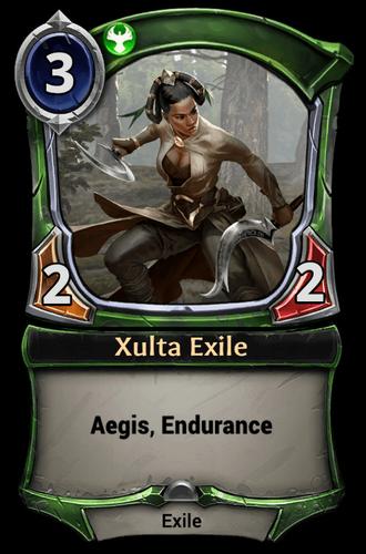 Xulta Exile card