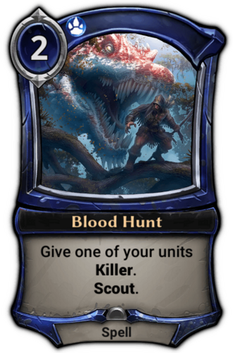 Blood Hunt card
