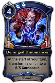 Deranged Dinomancer