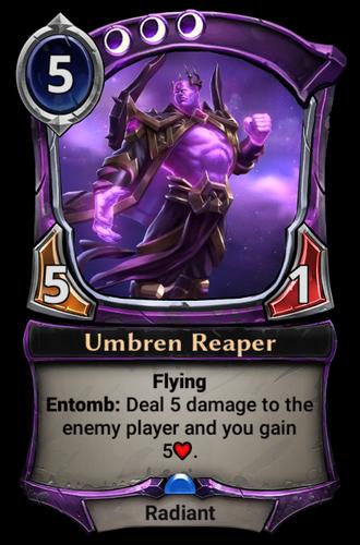Umbren Reaper card