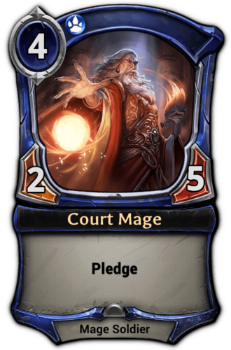 Court Mage card