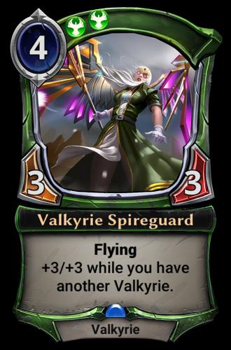 Valkyrie Spireguard card