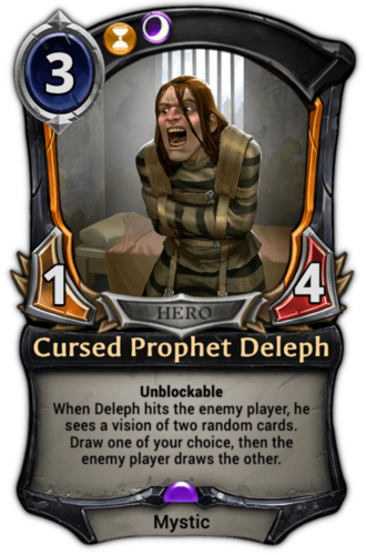 Cursed Prophet Deleph card
