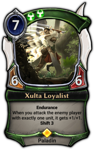 Xulta Loyalist card
