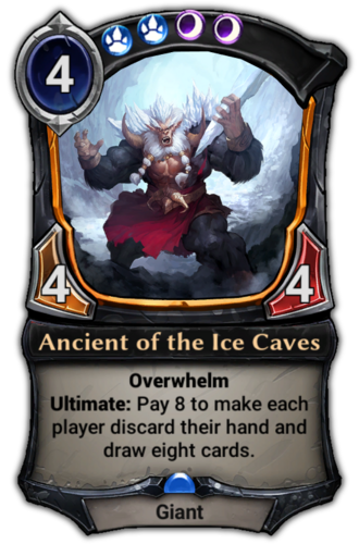 Ancient of the Ice Caves card