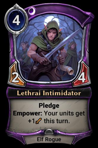 Lethrai Intimidator card