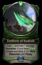 Emblem of Kodosh