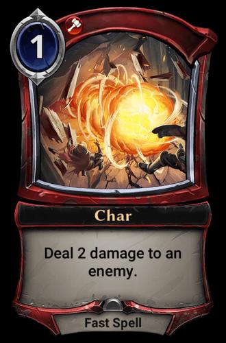 Char card