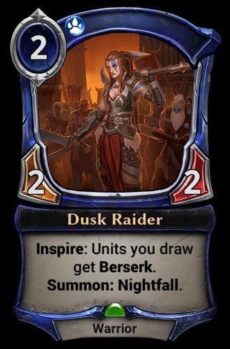 Dusk Raider card