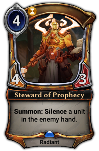 Steward of Prophecy card