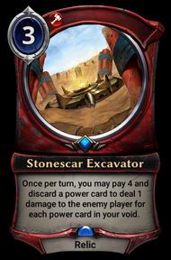 Stonescar Excavator