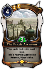 The Praxis Arcanum