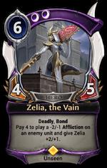 Zelia, the Vain