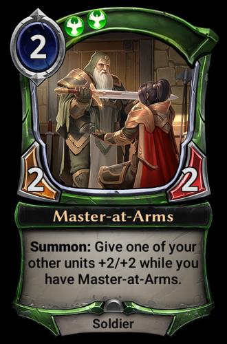 Master-at-Arms card