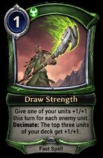 Draw Strength