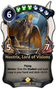 Nostrix, Lord of Visions