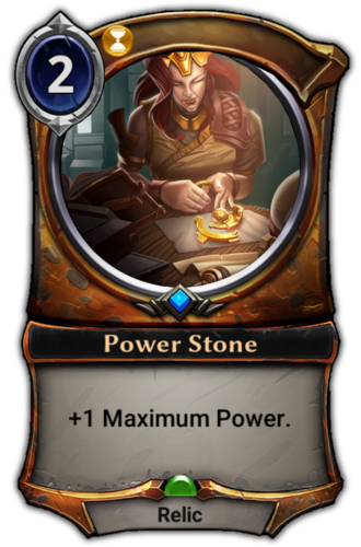 Power Stone card