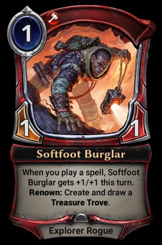 Softfoot Burglar card