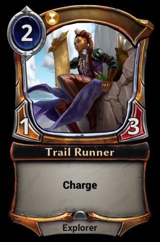 Trail Runner card