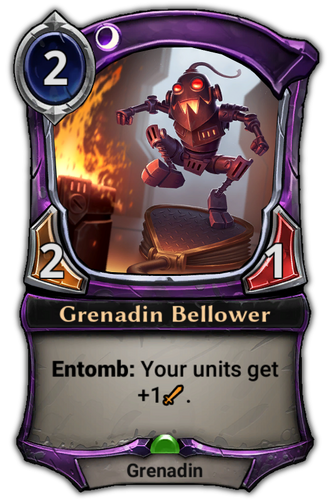 Grenadin Bellower card