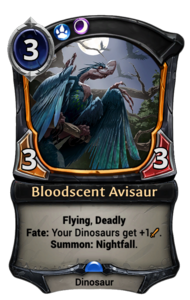 Bloodscent Avisaur