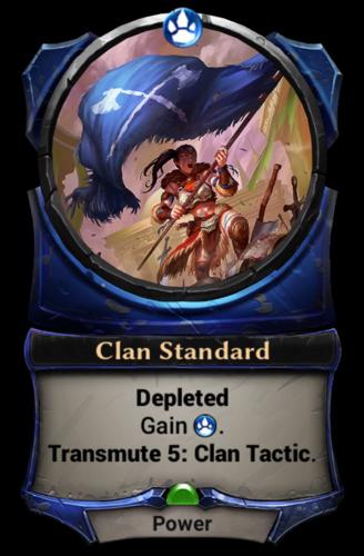 Clan Standard card